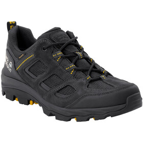 Jack Wolfskin Vojo 3 Texapore Chaussures Basses Homme, black/burly yellow XT